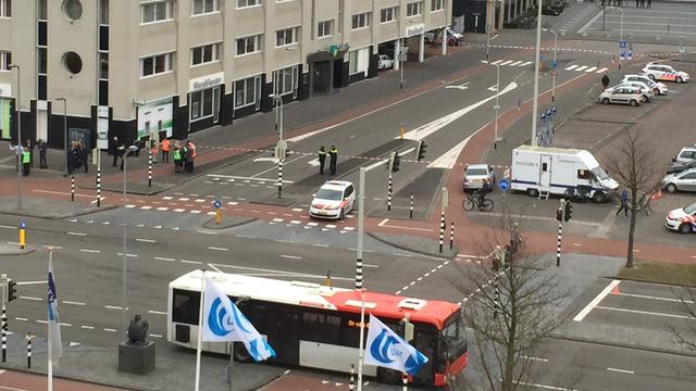 Politiebureau Breda ontruimd wegens verdacht pakketje op toilet