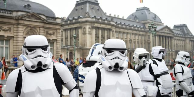 Doodzieke Star Wars-fan overleden na première The Force Awakens