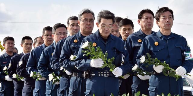 Japan herdenkt slachtoffers tsunami uit 2011