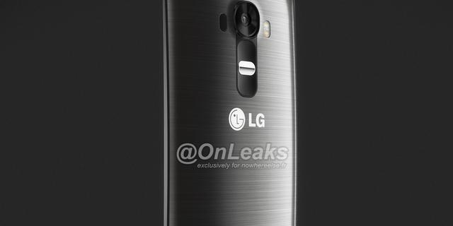 'Licht gebogen LG G4 te zien op afbeeldingen'
