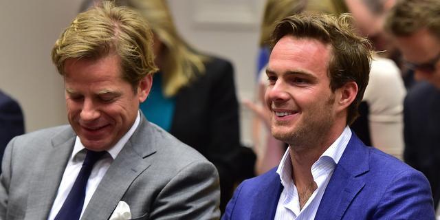 Voormalig F1-coureur Giedo van der Garde vader geworden
