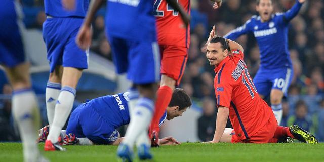 Ibrahimovic evenaart CL-record Davids door rode kaart Kuipers