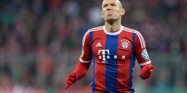 Robben komend weekeinde niet inzetbaar tegen Werder Bremen