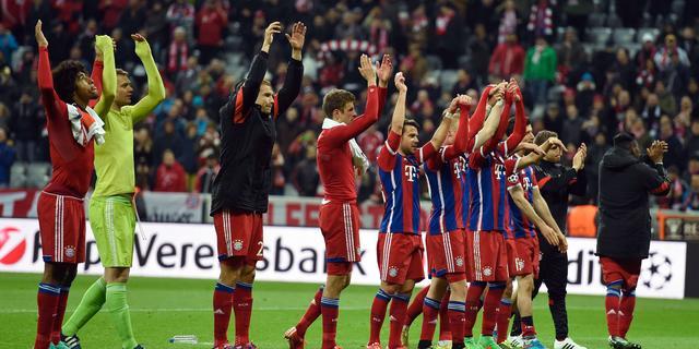 Bayern evenaart eigen record in knock-outfase met zevenklapper