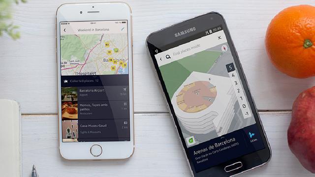 Facebook gebruikt Nokia's kaartendienst Here