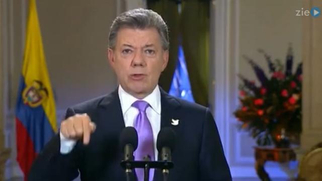 Colombiaanse president zegt dat vredesakkoord met FARC 'dichtbij' is