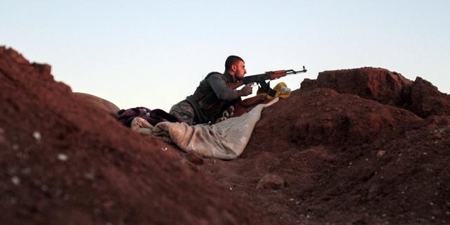 IS begint offensief tegen Syrische grensstad