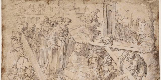 Centraal Museum koopt zeldzame voorstudie van Jan van Scorel