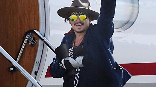 Johnny Depp riskeert celstraf of hoge boete om meebrengen honden