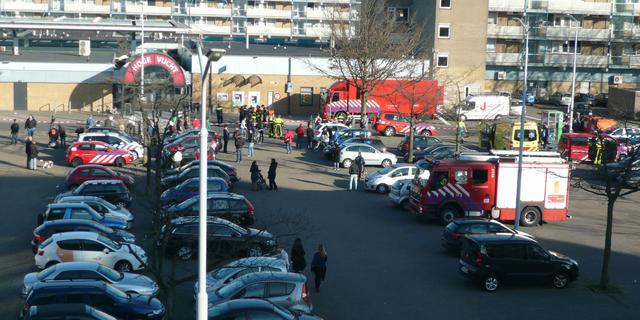 Winkelcentrum in Breda deels ontruimd na vondst 'verdacht pakketje'