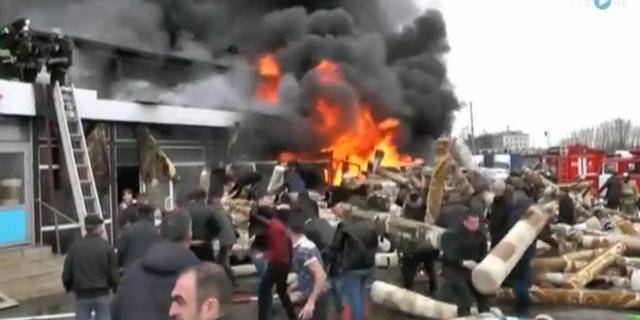 Arrestaties na dodelijke brand Kazan