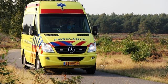 Brandweer rukt uit voor drenkeling in Zwolle