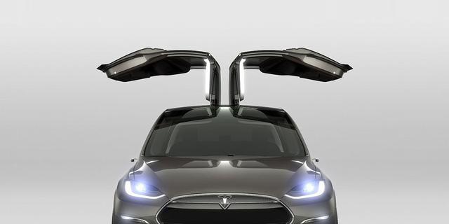 Tesla Model X komt begin 2016 naar Nederland