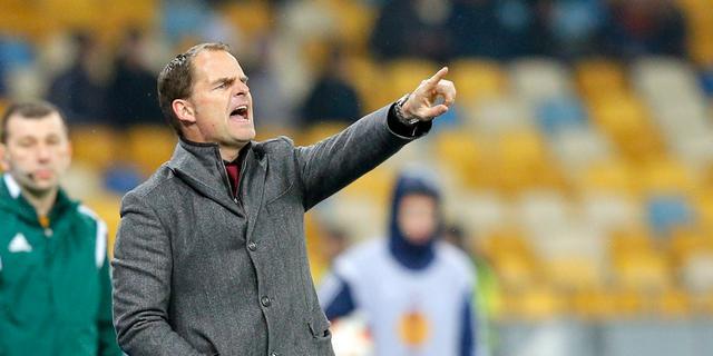 De Boer baalt van slechte uitgangspositie Ajax