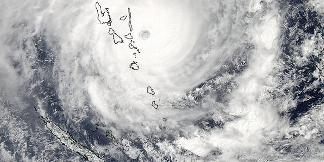 Zeker acht doden door cycloon bij eilandengroep Vanuatu