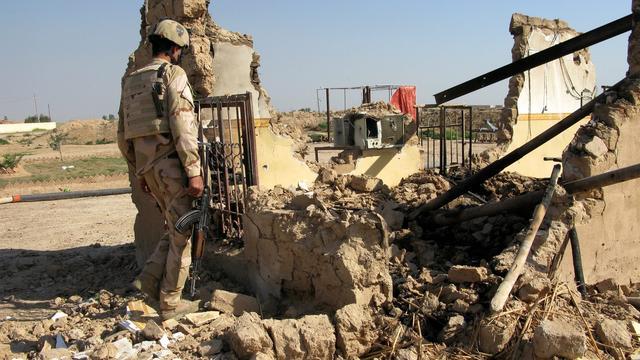 Sjiitische strijders trekken weg uit Tikrit