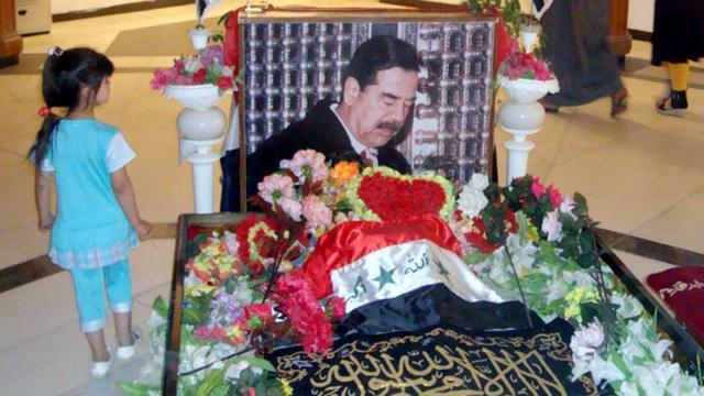 Graftombe van Saddam Hoessein bij Tikrit vernietigd