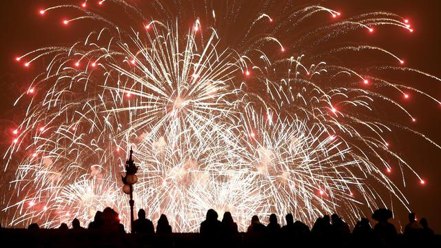 Grootse vuurwerkshow Oudjaarsavond bij Spanjaardsgat