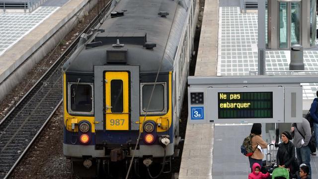 Belgische 'spooktrein' legt traject af zonder machinist