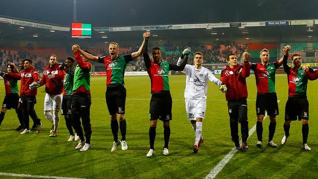 Titel in Jupiler League dichtbij voor NEC na grote zege