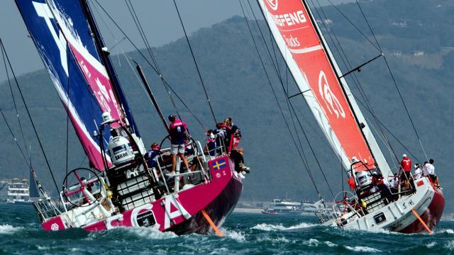 Zwaarste etappe Volvo Ocean Race na cycloon alsnog van start