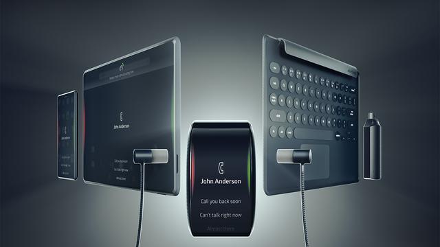 Multifunctionele smartwatch moet telefoon, tablet en pc vervangen