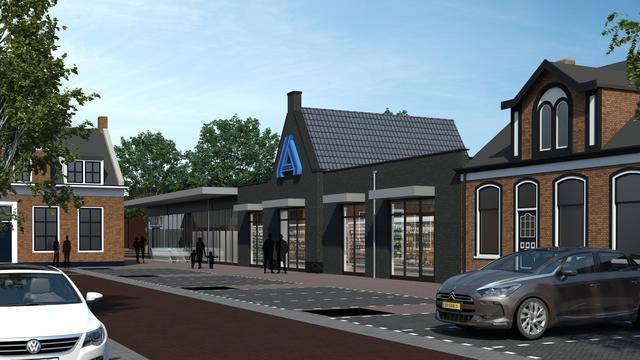 'Bouw supermarkt Aldi Wissenkerke gereed voor maart 2016'