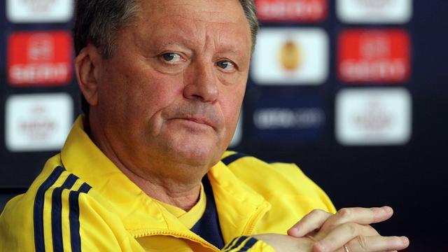 Dnjepr mist zieke hoofdtrainer Markevitsj in Amsterdam