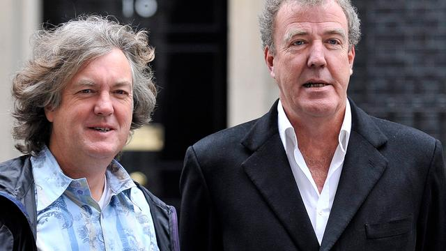 Top Gears co-presentator James May baalt van thuiszitten