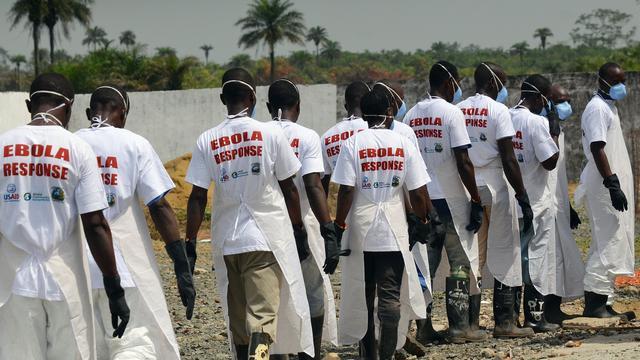 Risico verspreiding ebola vanuit West-Afrika neemt af volgens WHO