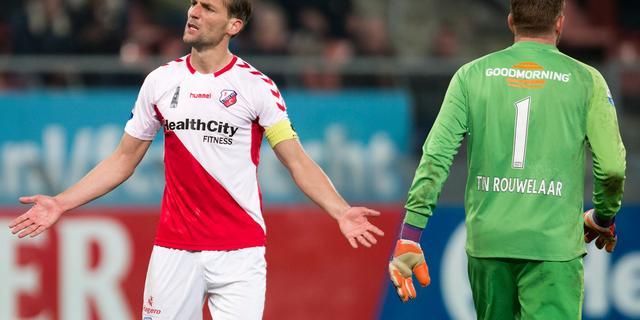 FC Utrecht-aanvoerder Janssen betreurt vertrek Alflen