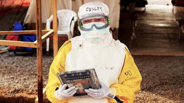 Google bouwt speciale ebola-bestendige tablet