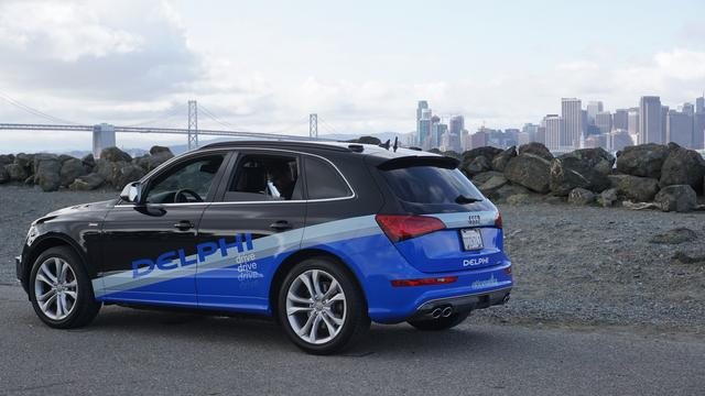 Zelfrijdende auto van San Francisco naar New York gereden