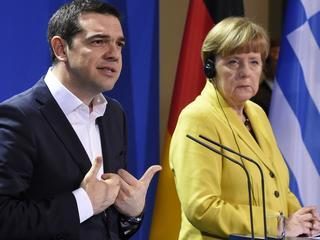 Bondskanselier had 'vriendelijk en constructief gesprek' met Griekse premier