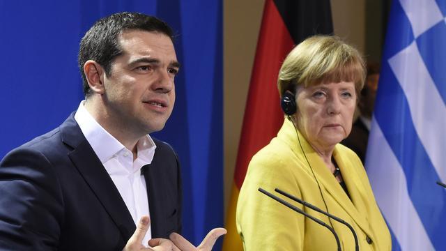 Merkel en Tsipras 'weten waar ze verschillen'