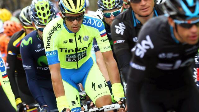 Contador niet bezorgd over tijdverlies in Ronde van Catalonië