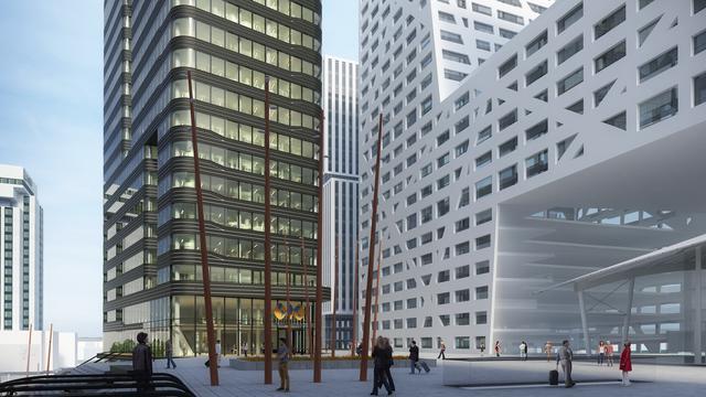 Bouw WTC stationsgebied start nog deze maand