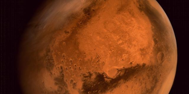 'Glas aangetroffen op Mars'