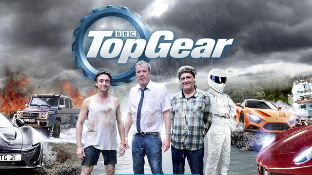 Top Gear-team toch weer op pad in liveshows