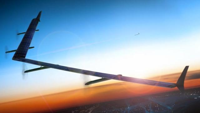 'Facebook weer begonnen met testen van internetdrones'
