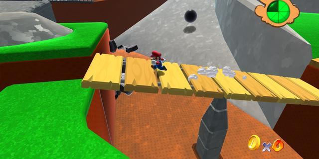 Super Mario 64 in hd speelbaar in browser