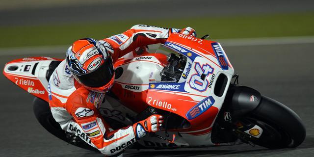 Dovizioso op pole position in openingsrace MotoGP