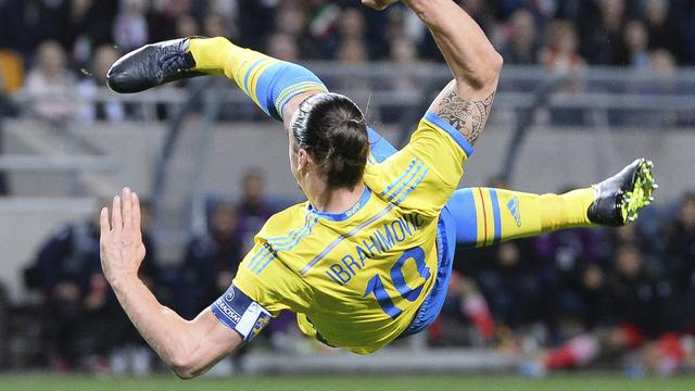 Samenvatting: Ibrahimovic helpt Zweden langs Iran