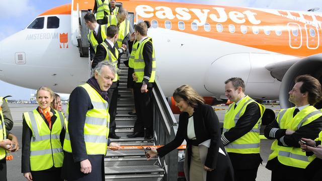 Easyjet breidt vluchten van en naar Schiphol uit