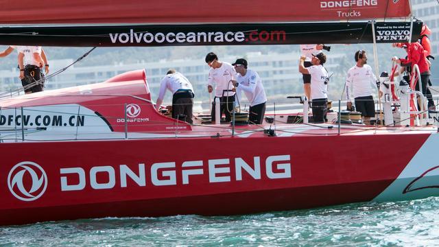 Dongfeng staakt strijd in vijfde etappe Volvo Ocean Race