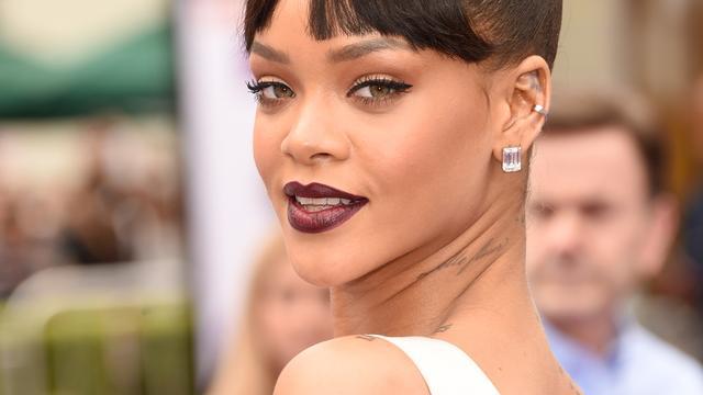 'Rihanna met Real Madrid-voetballer Karim Benzema op stap'