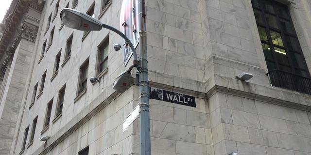 Bescheiden winsten op Wall Street