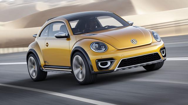 Volkswagen Beetle Dune volgend jaar in de showrooms