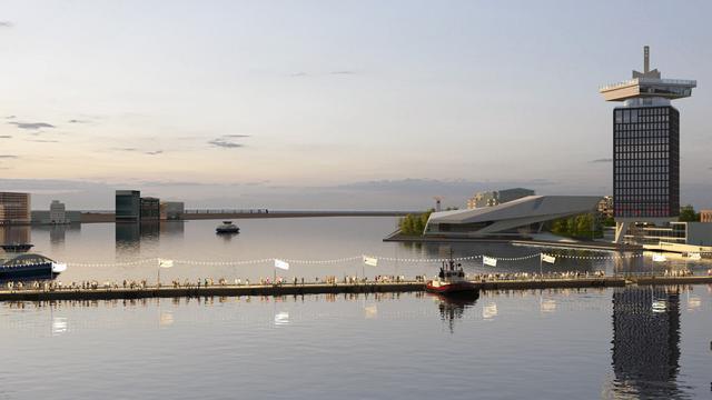 Amsterdam heeft op Bevrijdingsdag tijdelijk brug over IJ
