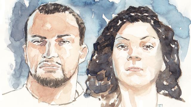 Antonio van der P. getuigt voor vriendin Enise B. in hoger beroep